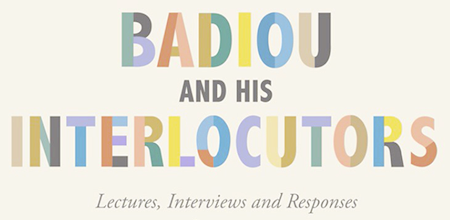 badiou interlocutors booklaunch